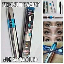 Máscara De Cílios Rímel Tango 4d 2x1 Alonga E Dá Volume