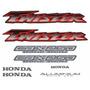 Kit Adesivos Honda Twister Cbx 250 2001 2002 Preta