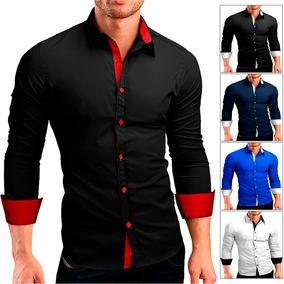 Camisa Social Masculina Slim Fit Importada + Frete Gratis