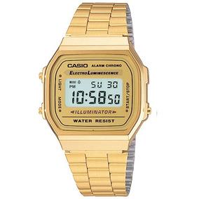 Reloj Casio Dorado A168 Vintage El Mas Vendido