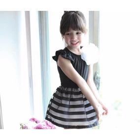 Vestido Casual Para Niñas Desde Las Tallas 2 Hasta La 10