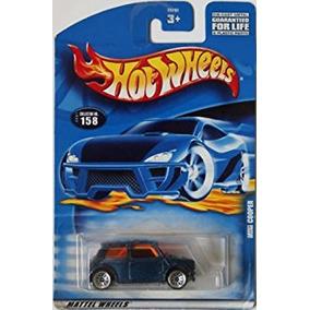 Coleccionable Mattel Hot Wheels :64 Scale Blue Mini Cooper