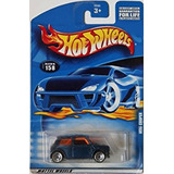 Coleccionable Mattel Hot Wheels :64 Scale Blue Mini Cooper