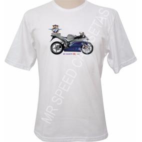 Camiseta Mv Agusta F4 1000 Azul Cinza