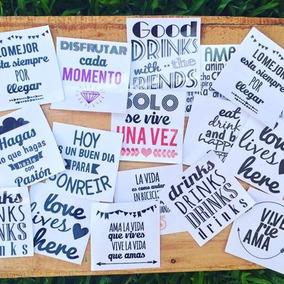 Etiquetas Adhesivas Para Frascos, Vasos, Botellas.