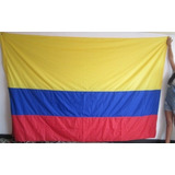 Bandera De Colombia (tamaño 143x240cm) En Vendaval Doble Faz