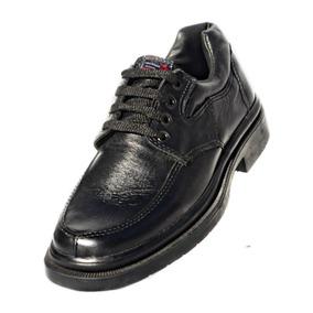 Zapato Leñador Cuero Hombre Elegante Urbano Oficina Cosido