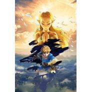 Impresión Foto - Poster Mario - Zelda - Nintendo 60 X 90 Cm
