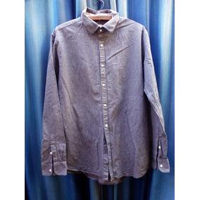f0cd5ab424c Camisa Zara Man Talle 44 L Sin Detalles!