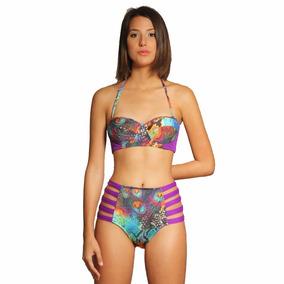 Traje De Baño Mola-mola! Azahara Talla L Bikini Ref. 1610