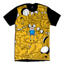 Adventure Time Hora De Aventura Camiseta Jake E Finn