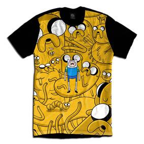 Adventure Time Hora De Aventura Camiseta Jake E Finn