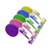 Cable Plano Colores Iphone 4, 4s Pc Wow