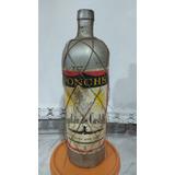 Antigua Botella Ponche Capitán De Castilla, Cerrada 950 Cm3