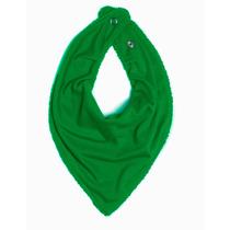 Babador Bandana Malha Verde Bandeira