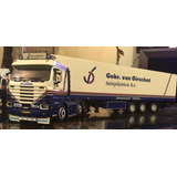 Camión Wsi Scania 143 6x2 Streamline Fridge Trailer. 1:50.