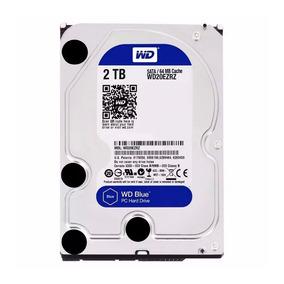 Disco Rigido 2tb Sata 3 64mb Wester Digital Wd Blue Lezamapc