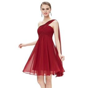 Vestido Lola Gala,fiesta,matrimonio Graduación Cocktail Rojo