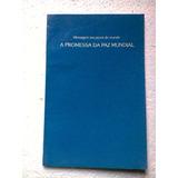 A Promessa Da Paz Mundial 1ª Edição 1985 - Editora Bahá