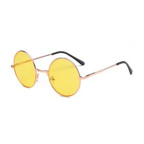 86cdfe3ee5bcc Óculos De Sol Cor Principal Amarelo em Santos no Mercado Livre Brasil