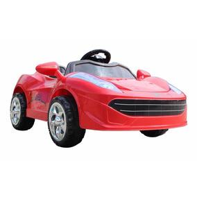 Mini Carro Criança Vermelho Carrinho Eletrico