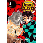 Demon Slayer 4! Mangá Panini! Novo Lacrado! Kimetsu No Yaiba