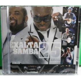 Cd Samba & Pagode Exalta Samba 25 Anos Lacrado