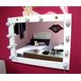 Suporte Camarim 1,0m X 77cm Para Espelho Suporta 12 Lampadas