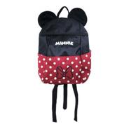 Mochila Infantil Minnie - Disney Nylon E Poliéster