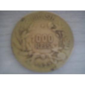 Moeda De 1000 Réis De 1925