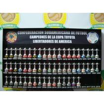Quadro Futebol Campeões Taça Libertadores Da América Acrilic