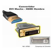 Zhtd01 Conecte Hdmi A Dvi Macho 24+1 Qhtd01q Compu-toys