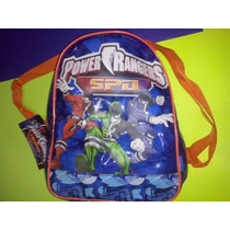 Mochila Power Ranger Tamaño Para Jardin