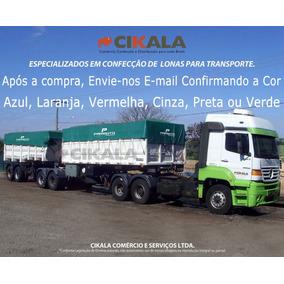Lona Caminhão Transporte Em Geral Ck 600 Emborrachada 6x6 M