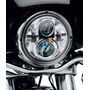 7 Pulgadas Redondo Moto Led Linterna Montaje Anillo