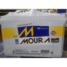 Bateria Moura 12v 100ah M100he P/ Caminhão Barco Gerador