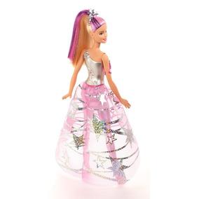 Barbie En Una Aventura Espacial Barbie Con Vestido Galactico