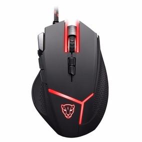 Mouse Gamer Motospeed V18 Óptico 4000dpi 9 Botões