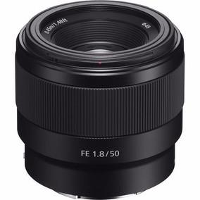 Lente Sony 50mm F1.8 E-mount Full Frame Sel50f18f