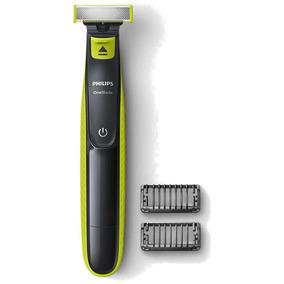 Barbeador Philips Oneblade Qp2521/10 Seco Molhado + 2 Pentes