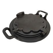 Forma Pra Fazer Waffle Alça Ferro Fundido Fogão A Lenha 24cm