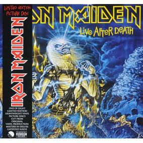Iron Maiden Live After Death Vinilo Importado Picture Disc