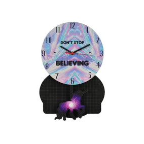 Relógio Parede De Pêndulo - Unicórnio