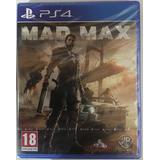 Mad Max Ps4 Nuevo Físico Sellado Mercadoenvios O San Miguel