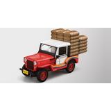 Jeep Willys Cj 3b Cafetero - Colección Jeep El Tiempo 1/43