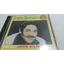 Cd Javier Solis ( Tesoros Musicales)