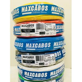 Fio Cabo Flexível 2,5mm Rolos Com 100 Metros Maxcabos