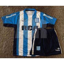 Conjunto De Racing Para Niño - Camiseta + Pantalon 2016