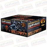 Torta Halloween-pirotecnia-fuegos Artificiales