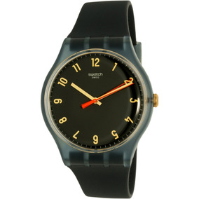 Reloj Swatch Para Hombre Suom105 Gris Correa De Silicona